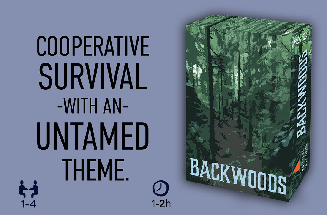 Backwoods board game box